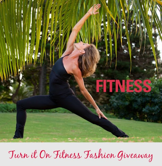 Turn it On Fitness Fashion Giveaway