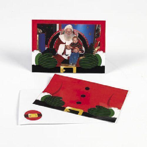 Christmas Cards Photo Holder Sleeve Holiday 4x6 Photo Insert