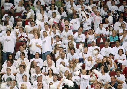 Coyotes whiteout