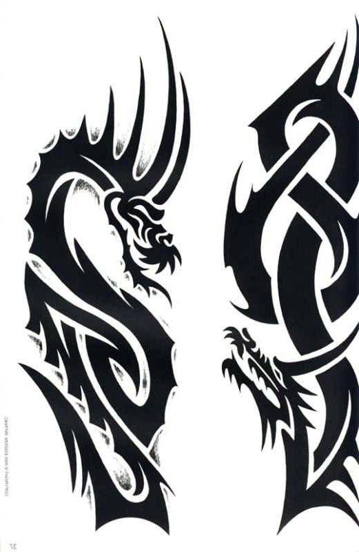 Tattoovorlagen Tribals Cool Tattoos Bonbaden