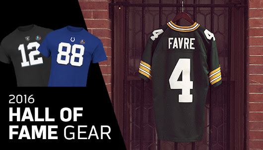 Brett Favre Headlines 2016 Hall of Fame Class - Inside NFLShop.com