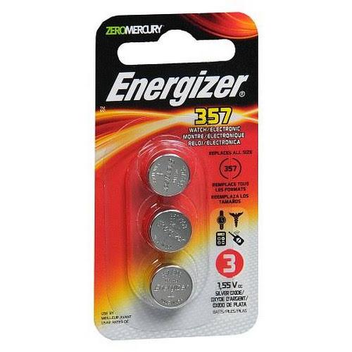 Google Express Energizer 357 Zeromercury Batteries 3 Count