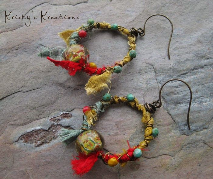 Earrings Everyday: Gypsy Hoops