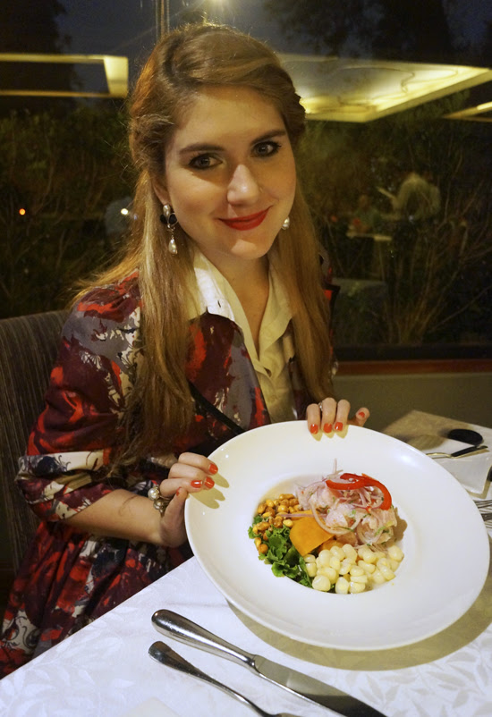 Dinner, Lima Peru
