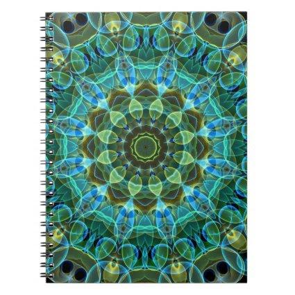 Owl Eyes kaleidoscope Notebooks