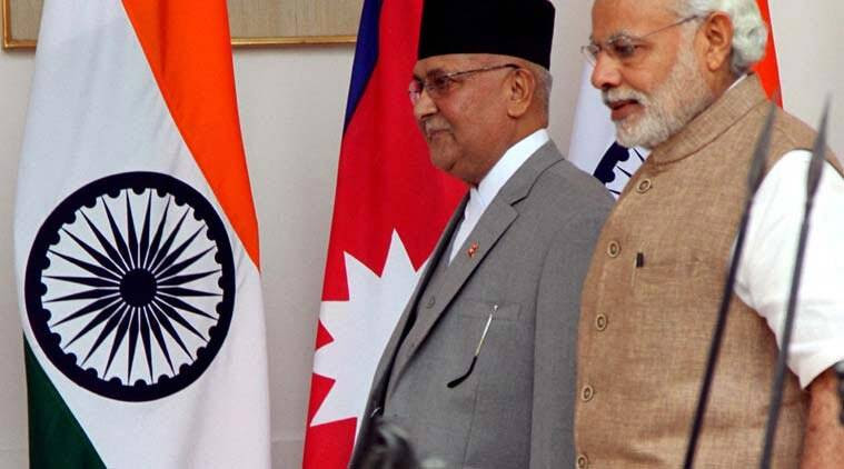 India Nepal relations, KP Oli, KP Oli India visit, india foreign policy, China nepal relation, Narendra Modi, indian express