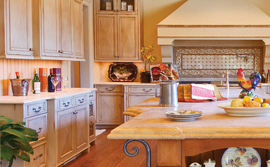 Warm Country Kitchen Collection | Unique Kitchen Interior Designs