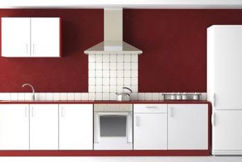 What Color Cabinets Go With Burgundy Painted Walls? | Home ...