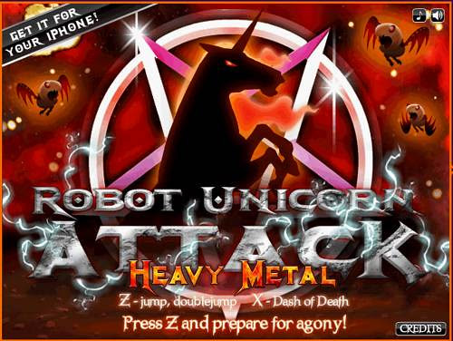 Robot Unicorn Attack Heavy Metal-00