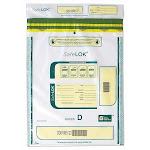 Control Group Clear Plastic Tamper-Evident Deposit Bag 12 x 16Inch Pack Of 100