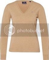 GANT Pullover aus Baumwolle beige