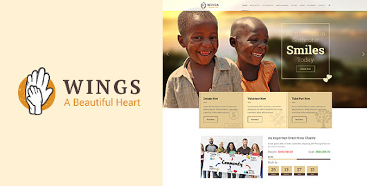Wings | Charity WordPress Theme