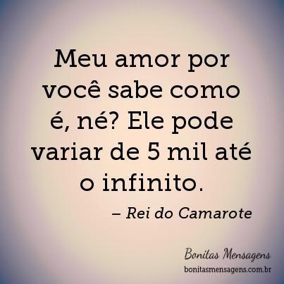 Frases De Amor Rei Do Camarote Para Facebook Mensagens Poemas