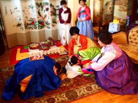 Traditional Korean Wedding Bow   Style & Decoration in