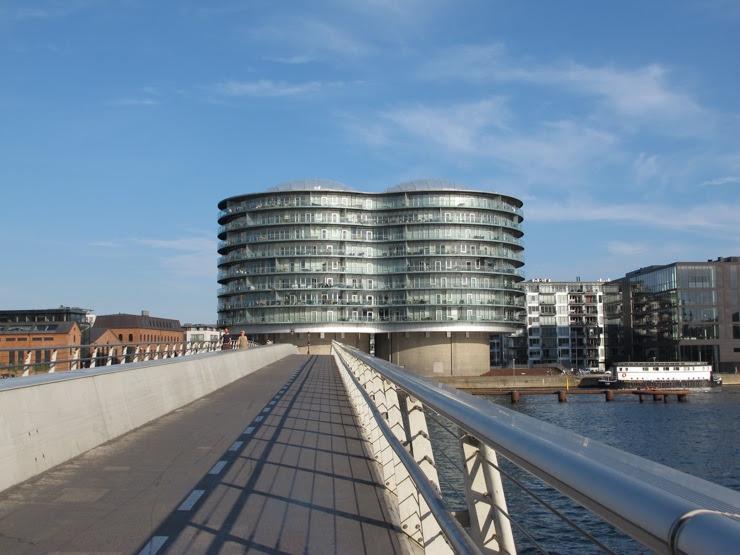 The bicycle bridge