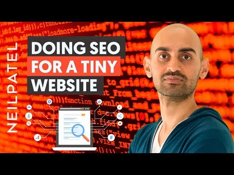 How to Do SEO For A Tiny Website Site