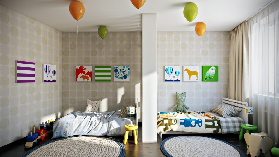 How To Decorate A Shared Childrens Room