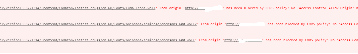 "Font awesome error - ""blocked by CORS policy"" The Next CEO of Stack"