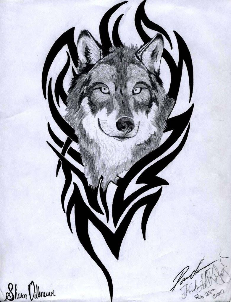 Wolf Tattoo Tribal Ideas Yo Tattoo
