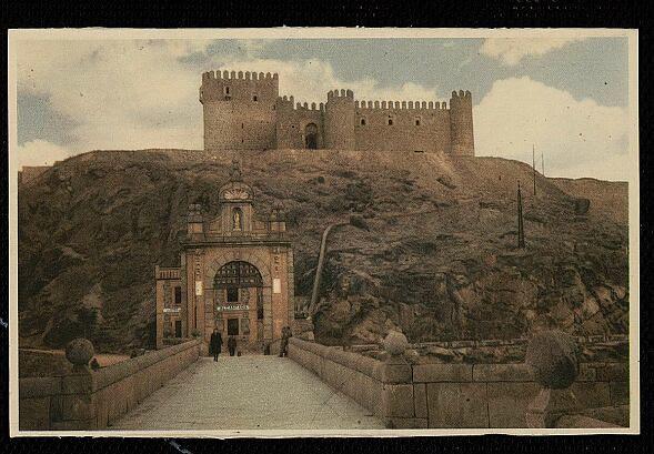 Castillo de San Servando hacia  1955. Foto Mayfe