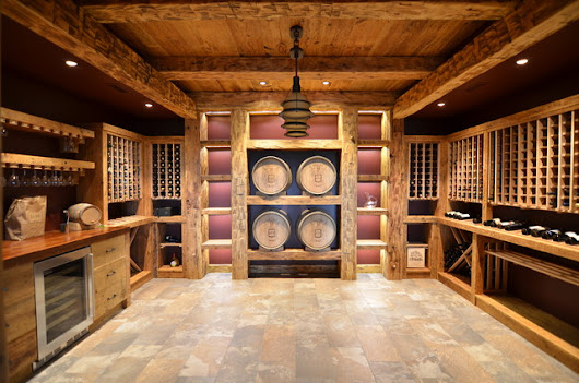Wine Cellar - Rustic - Wine Cellar - other metro - by Homestead Woodworks