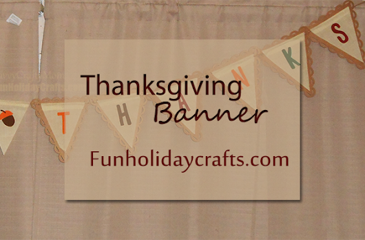 Thanksgiving Decoration Ideas - Target Thanksgiving Banner