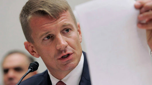 Erik Prince in the Hot Seat: Blackwater Founder Under Investigation for Illegal Mercenary Biz