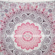 Queen Mandala Tapestry Throw