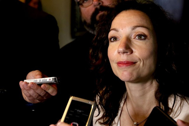 Martine Ouellet.... (Photo PATRICK WOODBURY, archives Le Droit)