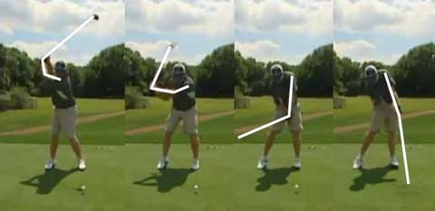 J.B. Holmes downswing sequence