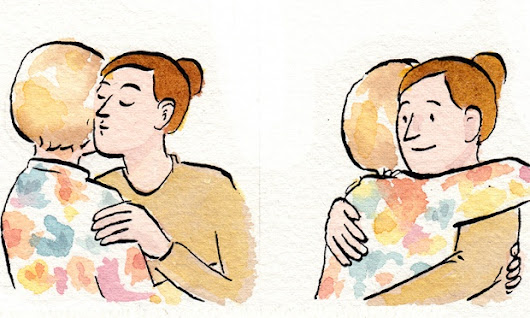 Cartoon: a non-guide to avoid awkwardness when greeting human beings by Sarah Glidden