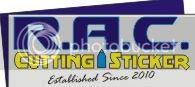 R.A.C. Cutting Sticker