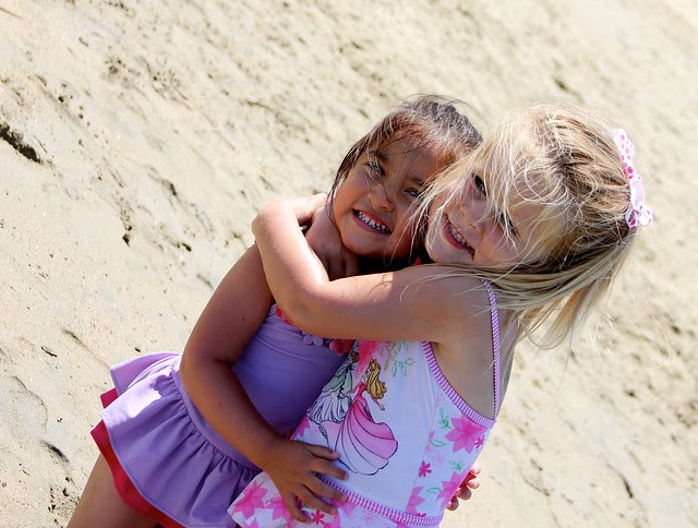 First Beach Day of the Summer 2012 2