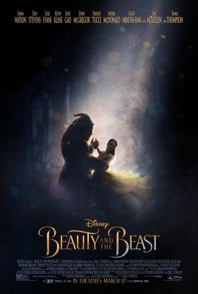 Kuvahaun tulos haulle beauty and the beast poster