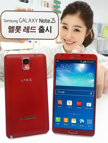 Merlot Red Samsung Galaxy Note 3 launched in South Korea, availability in other markets uncertain