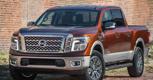 Nissan updates Titan pickup for first time in 12 years