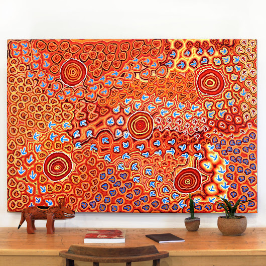 Margaret Nangala Gallagher | Aboriginal Art | Art Ark