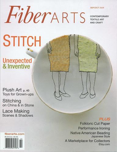 Fiberarts Cover!!!