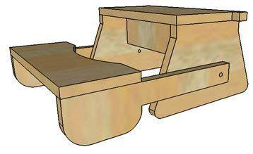 folding step stool plans  pattern   kids complete