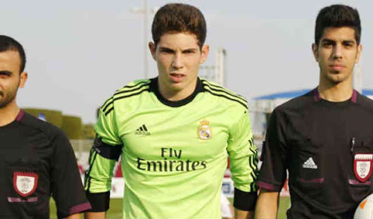 Luca Zidane called France U16 team!