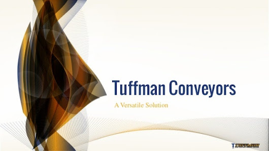 Tuffman Conveyors: A Versatile Solution