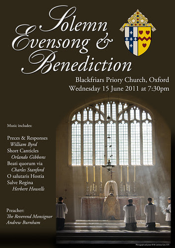 Evensong poster