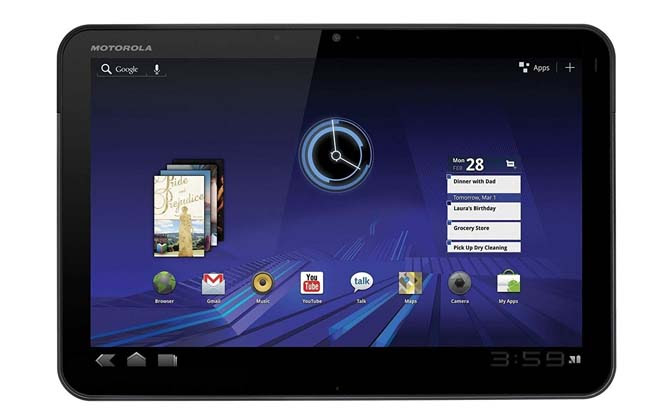 Motorola Xoom Photo Recovery