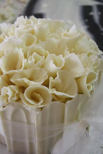 White chocolate by Louisa Morris Cakes