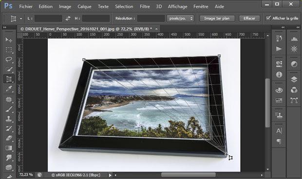 Redresser Les Perspectives Avec Photoshop