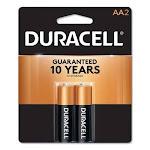 Duracell CopperTop Alkaline Batteries, AA, 2 Batteries (DURMN1500B2Z)