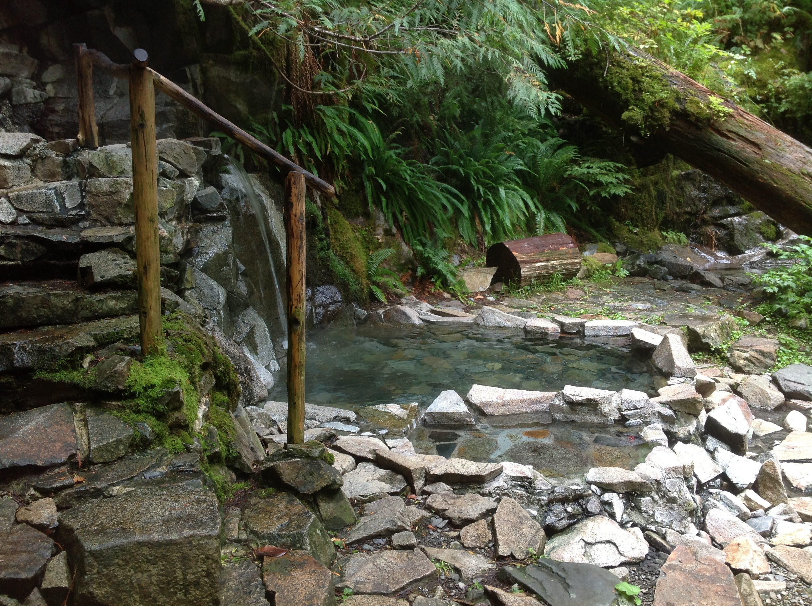Visit The Hidden Goldmyer Hot Springs In Washington