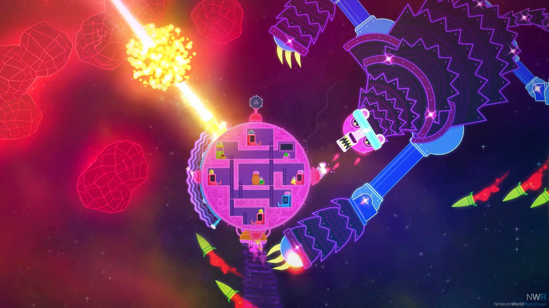 Lovers In A Dangerous Spacetime Review Review Nintendo World
