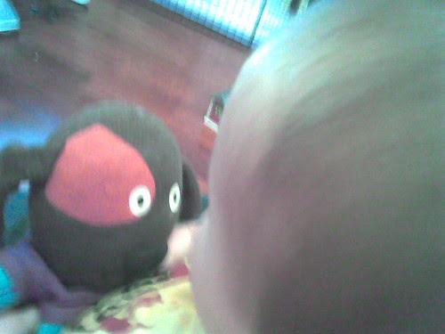 Daddy's eye view