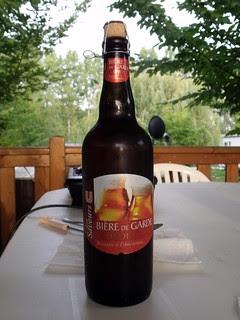 U Les Saveurs. Bière de Garde Blonde. Fance?